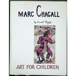 Marc Chagall Art For Children Book -Ernest Raboff 1969