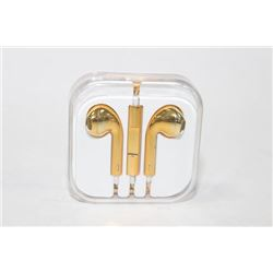 NEW PAIR OF HEADPHONES ON CHOICE : GOLDTONE