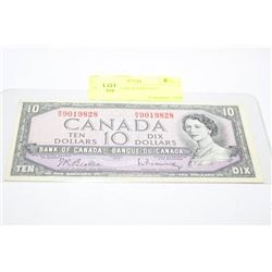 1954 10 DOLLAR BANKNOTE