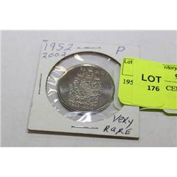 1952-2002 50 CENTS (P) VERY RARE