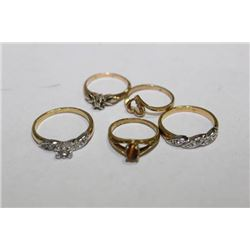 OLD GOLD RINGS