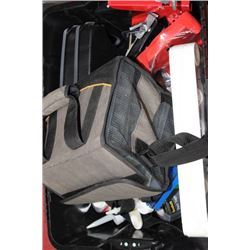 BOX OF ASSORTED TOOLS INCLUDES, 2 CASES ASORTED