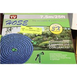 PAIR OF 25 FT. EXPANDABLE HOSES