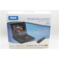 NEW RCA PORTABLE BLU-RAY PLAYER IN BOX