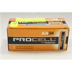 """PK OF 24 PROCELL """"AA"""" BATTERIES"""