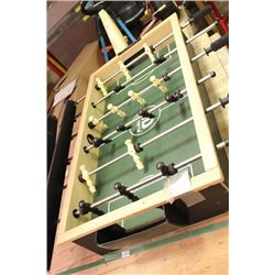 FOOSBALL TABLE WITH LEGS