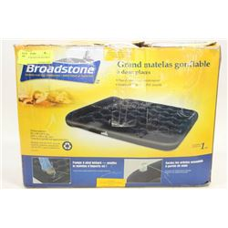 BROADSTONE QUEEN AIR BED WITH PUMP