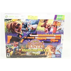 NEW XBOX KINECT BIG GAME HUNTER GAME, CABELLAS