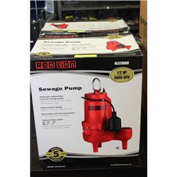 RED LION 1/2HP AUTOMATIC CAST IRON