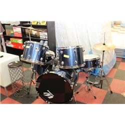 WESTBURY FULL 7 PC DRUM SET