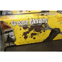GREASE MONKEY DISPOSABLE GLOVES (50) SIZE XL