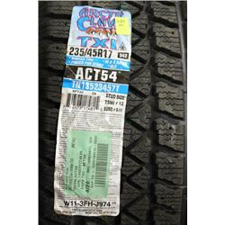ARCTIC CLAW TX1 235/45 R17 94T WINTER TIRE PINNED