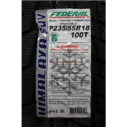 FEDERAL HIMALAYA SUV 235/55 R18 100T TIRE