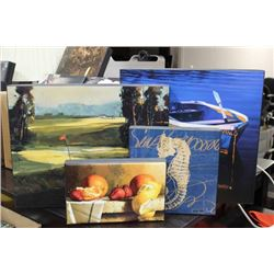 BOX OF PRINTS ON CANVAS - ON CHOICE