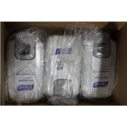 CASE OF 6 PURELL HAND SANITIZER DISPENSERS