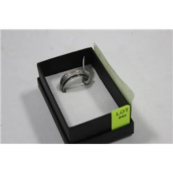 STAINLESS STEEL RING SIZE 9 1/2