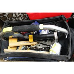HAND CARRY MASTERCRAFT TOOL BAG & TOOLS