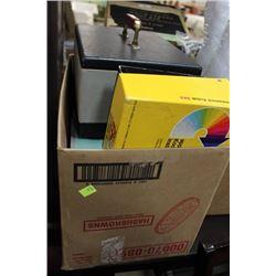 3 BOXES OF COLLECTIBLE CAMERAS,