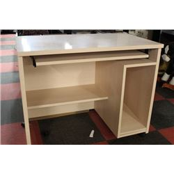 OFFICE DESK ON CASTERS