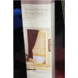 "48x64"" BAMBOO ROLLER BLIND, NEW"