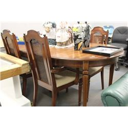 VINTAGE TABLE W/ 4 CHAIRS