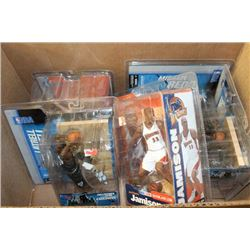 GROUP OF 5 MCFARLANE SPORTS FIGURINES