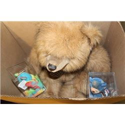 BOX OF COLLECTIBLE BEARS