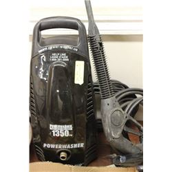 POWERWASHER 1350 PSI ELECTRIC WITH HOSE