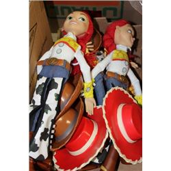 BOX OF TOY STORY TOYS