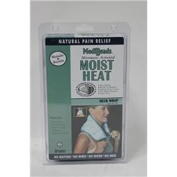 MEDIBEADS MICROWAVE ACTIVATED MOIST HEAT NECK WRAP