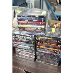 BUNDLE OF (10) DVD MOVIES X 5