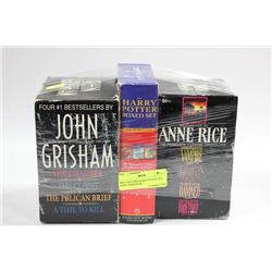 BEST SELLERS HARRY POTTER SET, JOHN GRISHAM &