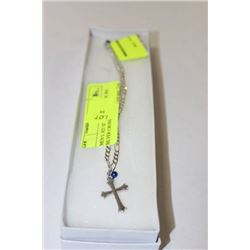 MEN'S .925 SILVER CHAIN WITH .925 SILVER CROSS