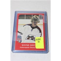 FOUR WAYNE GRETZKY HOCKEY CARDS