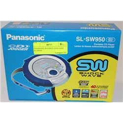 PANASONIC PORTABLE CD PLAYER SL-SW950