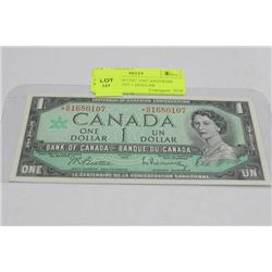 SCARCE GEM UNC 1967 ASTERISK REPLACEMENT 1 DOLLAR