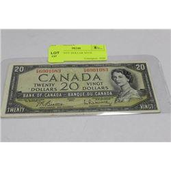 1954 TWENTY DOLLAR NOTE