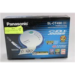 PANASONIC POTABLE CD PLAYER SL-CT490