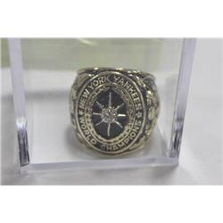 1927 CHAMPIONSHIP REPLICA RING NEW YORK YANKEES