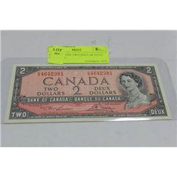 GEM UNC 1954 TWO DOLLAR NOTE PREFIX VG