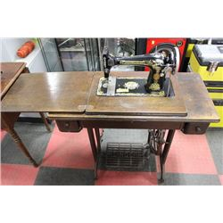 VINTAGE SINGER SEWING MACHINE WITHOUT CABINET
