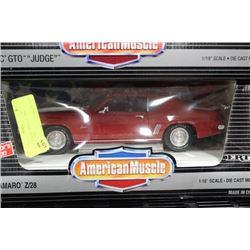 1:18 AMERICAN MUSCLE 1969 CAMARO Z/28