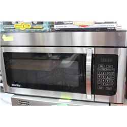 STAINLESS/BLK GE OVER THE RANGE MICROWAVE
