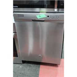 STAINLESS GE WITH STAINLESS DRUM DISHWASHER