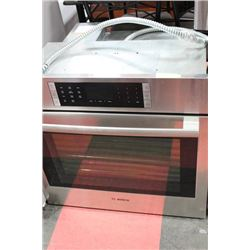 BOSCH WALL CONVECTION OVEN STAINLESS