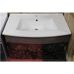 NEW FLORAL  DESIGN FLOATING BATHROOM VANITY ON