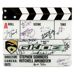 G.I. Joe Cast Signed Clapperboard