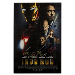 Iron Man Signed One-Sheet Poster