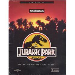 Universal Studios Merchandising Style Guide for Jurassic Park