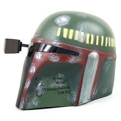 Don Post Star Wars Boba Fett Helmet Signed by Jeremy Bullock